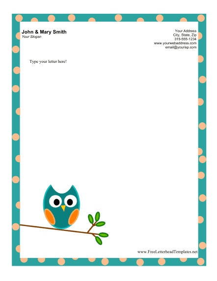 business letterhead template microsoft word