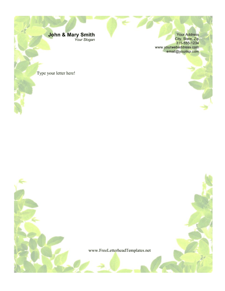 Personal Letterhead Samples Cake Ideas And Designs