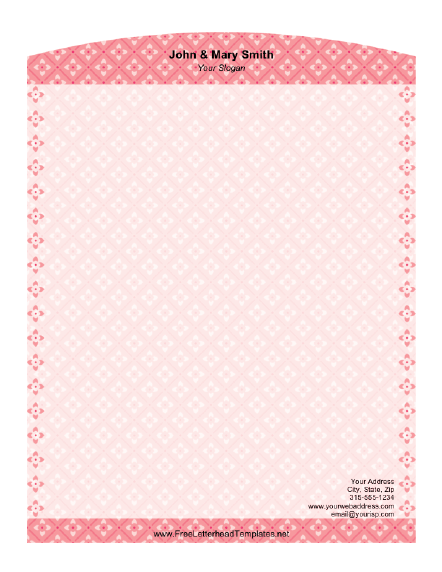 personal letterhead templates .