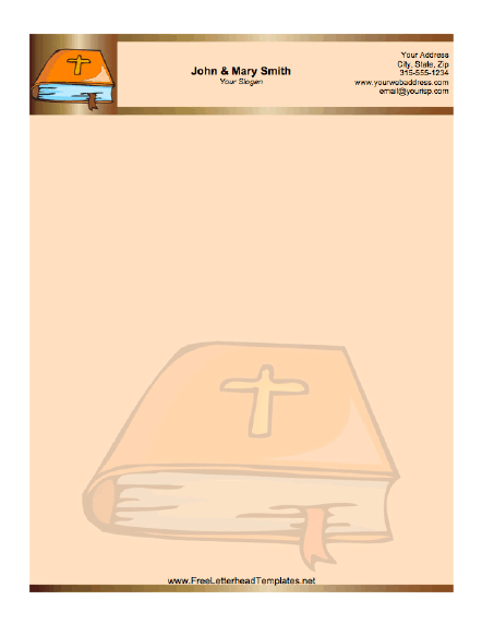 christian letterhead templates free - free church letterhead